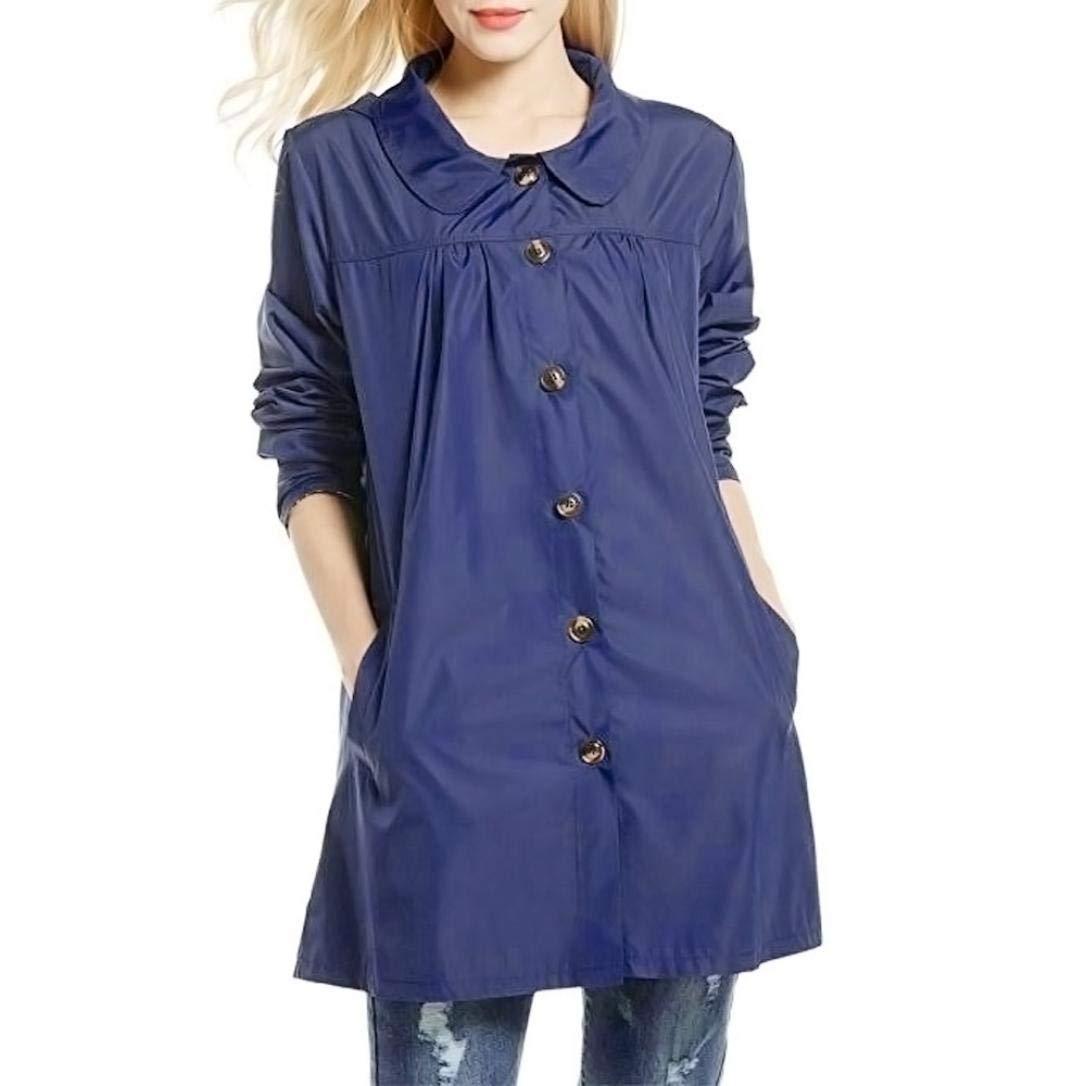 Faionny Womens Jacket Hoodies Coat Blouse Solid Tops Lightweight Outdoor Sport Waterproof Raincoat Jacket