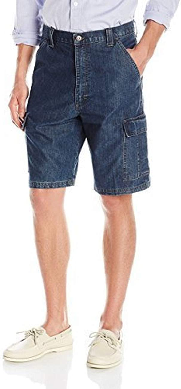 Wrangler Authentics Mens Big /& Tall Classic Relaxed Fit Cargo Short