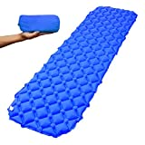 Xmifer Sleeping Pads for Camping Backpacking,Ultralight Hiking Compact Air inflatable Mattress Comfortable Outdoor Camping Pad