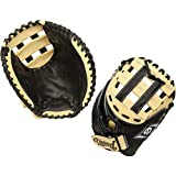 Diamond Fast Pitch Cather's Mitt-Righty for Right Handed Thrower, Black/Cream