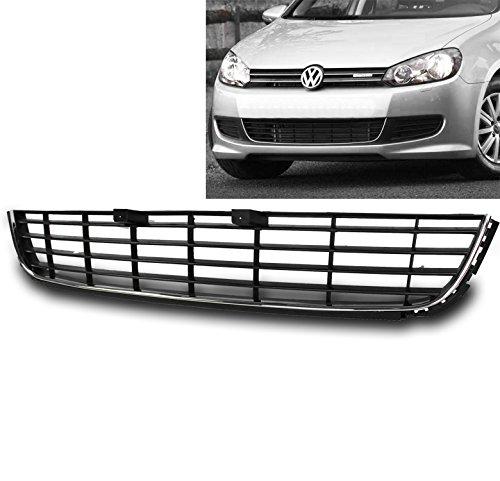 ZMAUTOPARTS VW Golf/ Jetta MK6 ABS Sportwagen Front Bumper Lower Grille Insert Black (Vw Golf Grill)