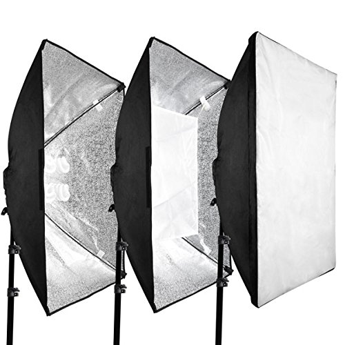 Photo Shooting Table 12x 45w Continuous Lighting Kit by LASHOP