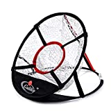 Galileo Golf Hitting Net for Training Practice Driving Indoor Outdoor Collapsible Portable Bundle Pop Up Net