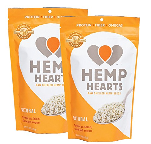 Manitoba Harvest Hemp Hearts Raw Shelled Hemp Seeds, Natural, 2 Pounds