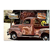 US Truck by Philippe Hugonnard, 12x19-Inch Canvas Wall Art