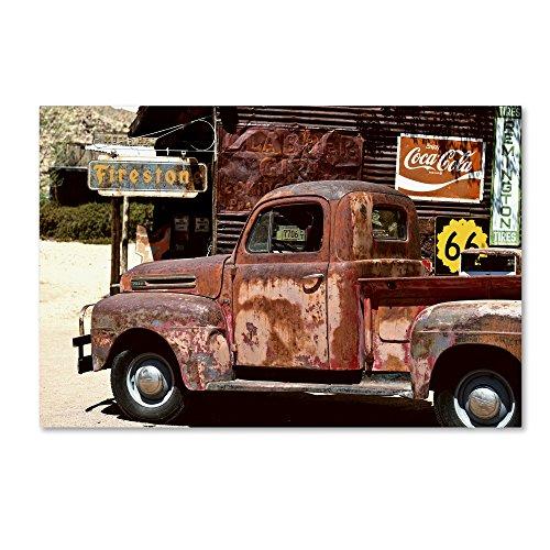 (US Truck by Philippe Hugonnard, 16x24-Inch Canvas Wall Art)