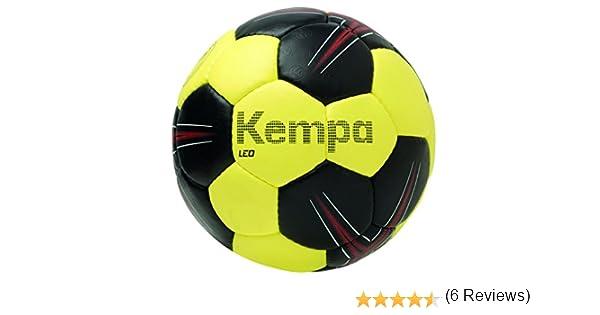 Kempa Leo Balón de Entrenamiento, Negro/Lima/Rojo, 0: Amazon.es ...