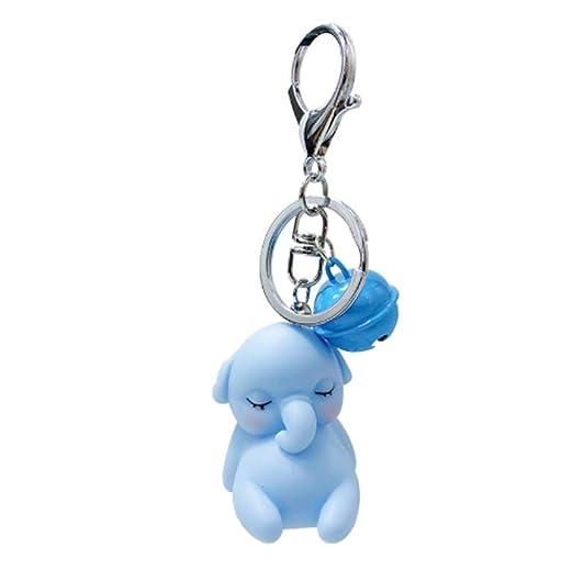 HLBJ Llavero Dibujos Animados Dumbo Cute Doll Llavero ...