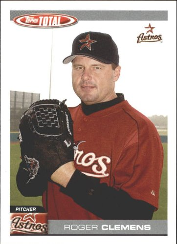 - 2004 Topps Total Team Checklists Baseball Card #TTC13 Roger Clemens