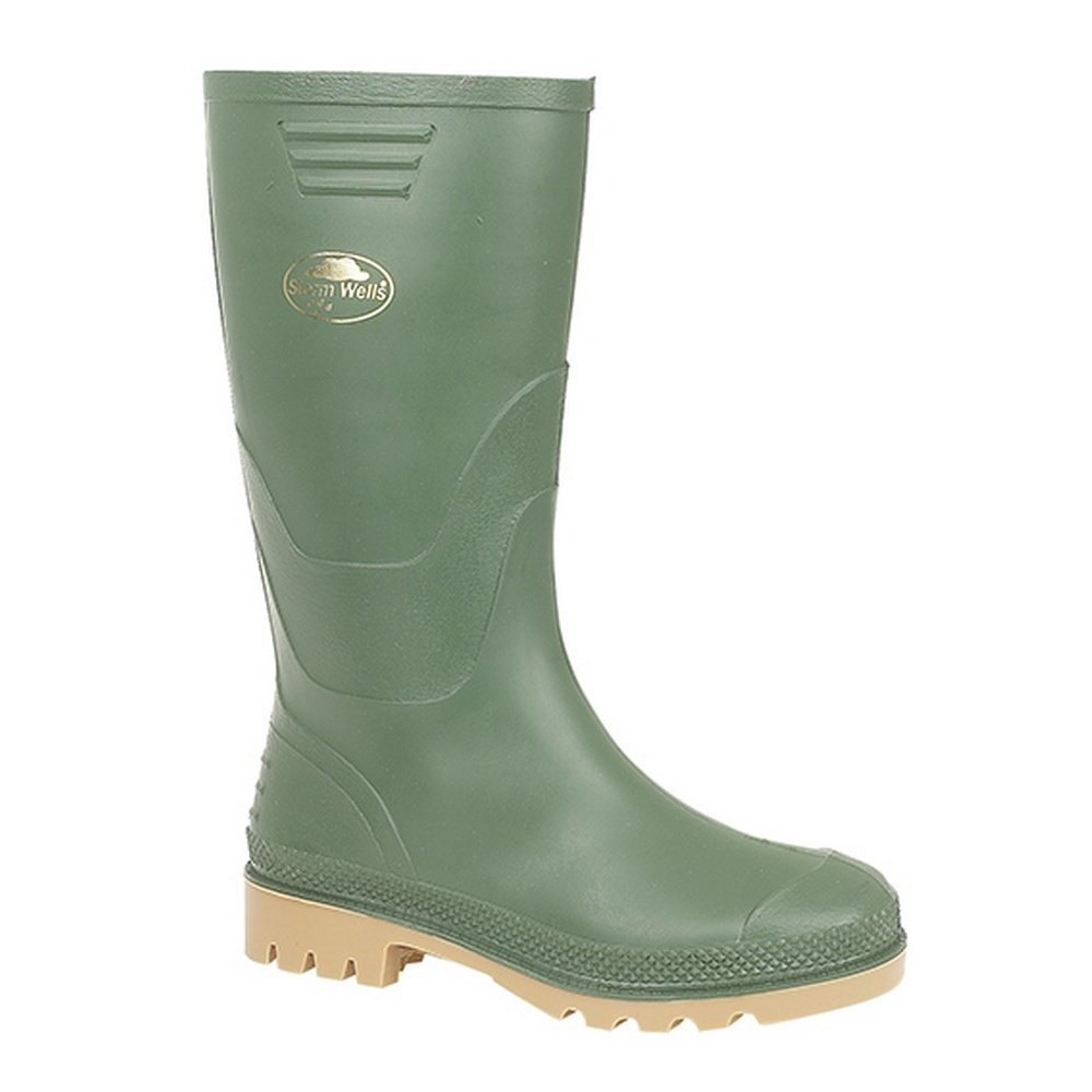 Stormwell Childrens/Kids Junior Wellingtons (5 US) (Green)