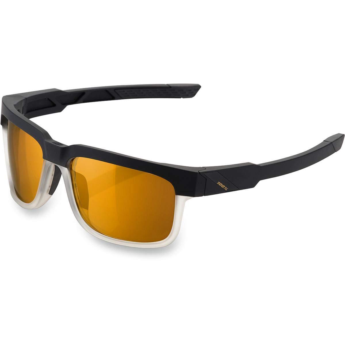 Inconnu 100% Met – 007 – 49 Sonnenbrille Unisex Erwachsene, schwarz transparent