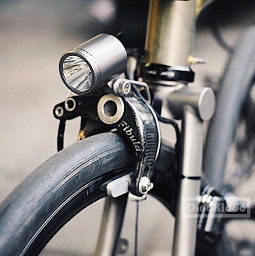 Dino Kiddo Nov Dynamo Luz Delantera para Bicicleta Plegable ...