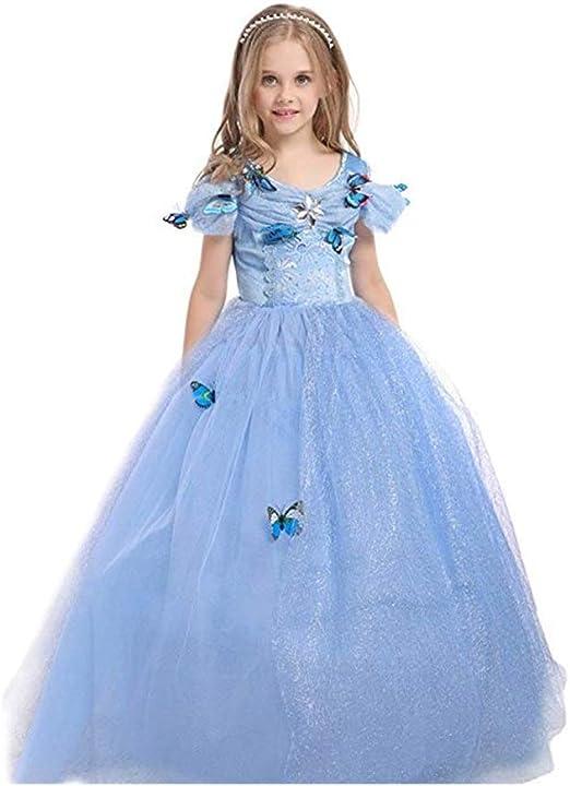 Chandy Disfraz de Verano para niños Ropa de Princesa Falda de ...