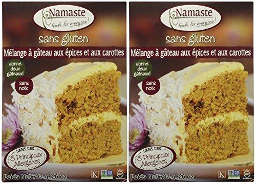 Namaste Foods Spice Cake Mix, 26 oz, 2 pk - Namaste Spice
