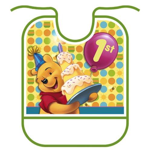 Pooh's 1st Birthday Bib