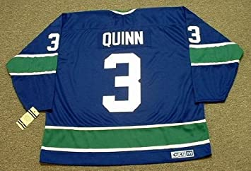 PAT QUINN Vancouver Canucks 1972 CCM Vintage Throwback Away NHL Hockey  Jersey d7664c7f9