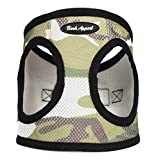 Bark Appeal Mesh Step in Harness, Small, Camouflage
