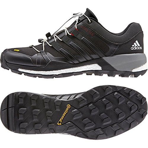 adidas outdoor Mens Terrex Skychaser GTX Shoe Black, White, Vista Grey
