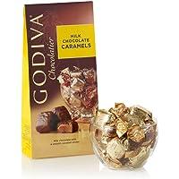 Godiva Chocolatier Assorted Milk Chocolate Caramel Truffles Gift Bag, 5.75 Ounce (Pack of 1)