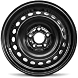 Road Ready Car Wheel For 2013-2019 Nissan Sentra 16 Inch 5 Lug Black Steel Rim Fits R16 Tire - Exact OEM Replacement…