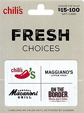 Amazon.com: Brinker Gift Card $25: Gift Cards