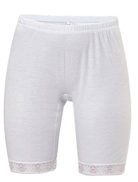 3 Pair 100/% COTTON  BAND LEG PANTY Size 14 White Carole
