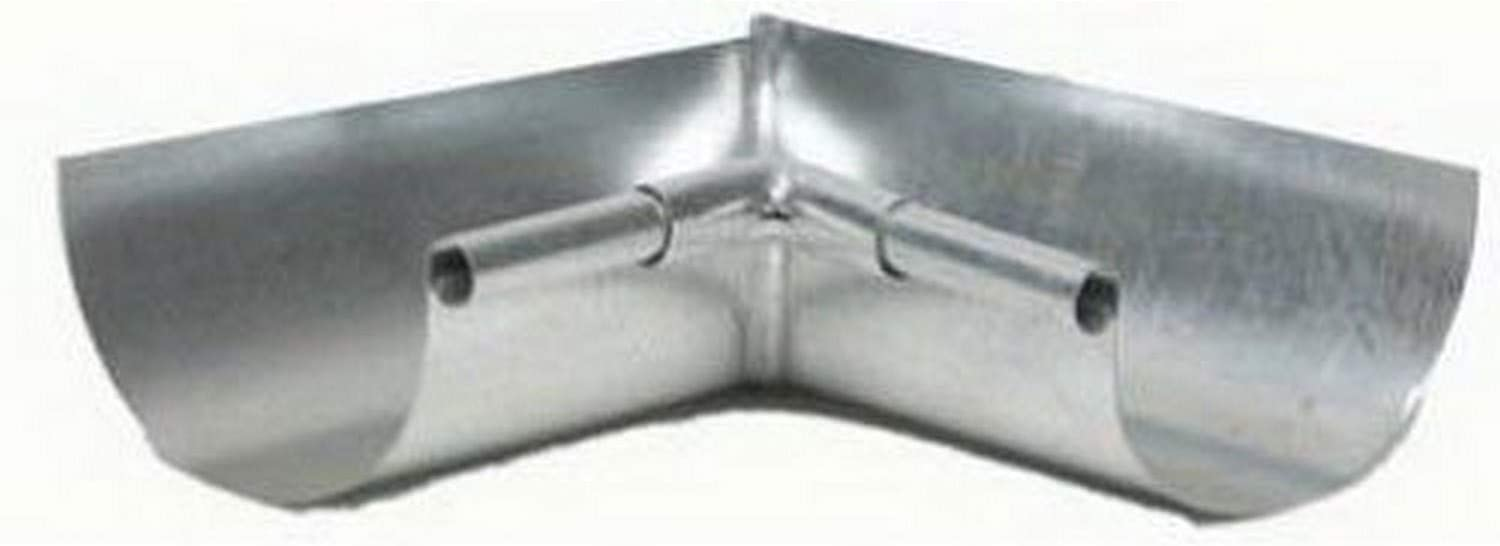 AMERIMAX HOME PRODUCTS LIS265 5-Inch Galvanized Inside Mitre