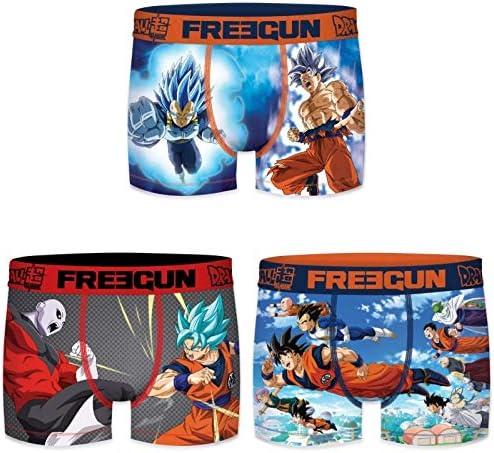 FREEGUN Pantaloni Pacco da 3 Bambino
