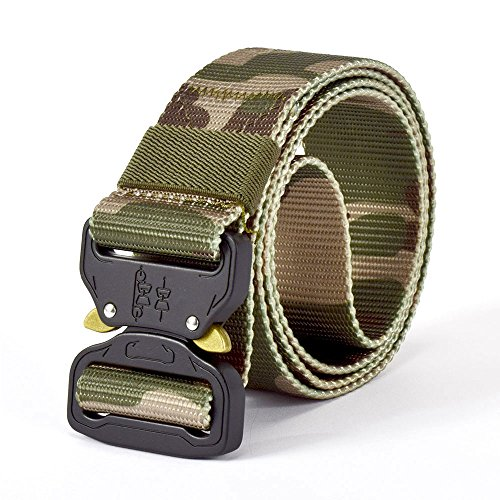 SINAIRSOFT Tactical Utility Waist Riggers Battle Belt, Nylon Webbing 1.5