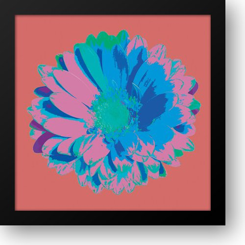 - Flower II 24x24 Framed Art Print by Lens, Jan