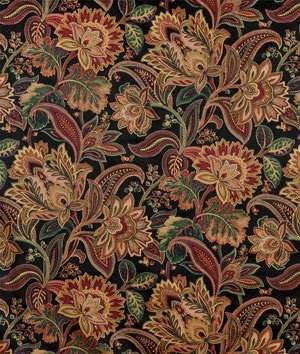 Swavelle / Mill Creek Valentina Onyx Fabric - by the Yard