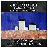 SHOSTAKOVICH. Piano Quintet. Hamelin/Takacs Quartet