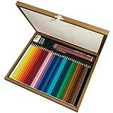 STABILO Aquacolor matite colorate colori assortiti - Scatola di legno da 36