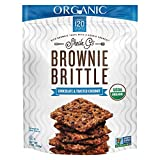 Brownie Brittle Organic Chocolate & Toasted Coconut, 5 Ounce