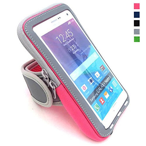 Price comparison product image Yomole Multifunctional Outdoor Sports Armband Casual Arm Package Bag Cell Phone Bag Key Holder for iPhone 6/6s Plus/5s/5c/SE, Samsung Galaxy Note 5/4/3, Note Edge S4/S5/S6/S7 Edge Plus LG G3/G4/G5