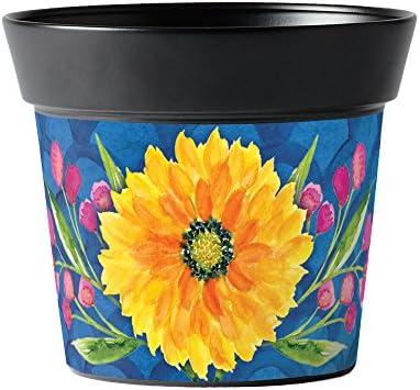 Studio M AP06177 Fresh Floral Flowerpot, 6