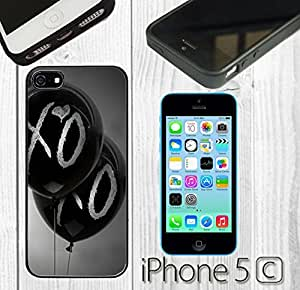 The Weeknd Balloons Custom made Case/Cover/skin FOR iPhone 5C -Black-Rubber Case