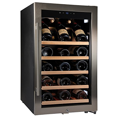 Wine Enthusiast Cellar Deluxe Oversized Bottle Wine Refrigerator