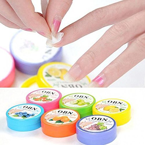 Nail Art Remover Flower Flavor Wet Wipes Nail Remover Pads Paper Easy Cleansing 1Box/32Pcs TUPOR