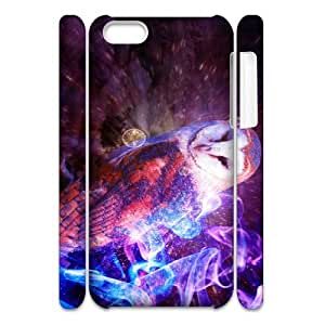 G-C-A-E2040570 3D Art Print Design Phone Back Case Customized Hard Shell Protection Iphone 5C