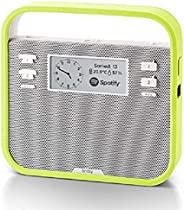 Invoxia Smart Portable Speaker with Amazon Alexa, Green