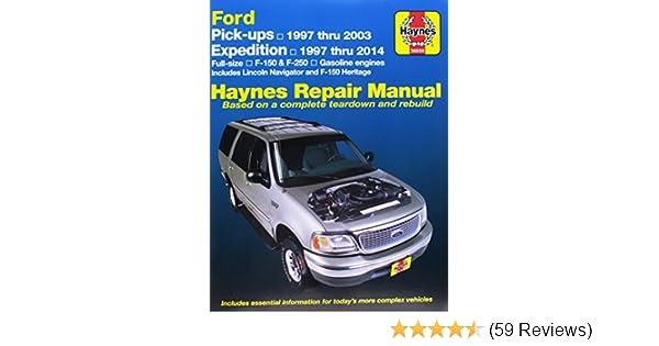 Haynes repair manual ford pick ups expedition 1997 thru 1999 haynes repair manual ford pick ups expedition 1997 thru 1999 haynes jay storer john h haynes 9781563923579 amazon books fandeluxe Gallery