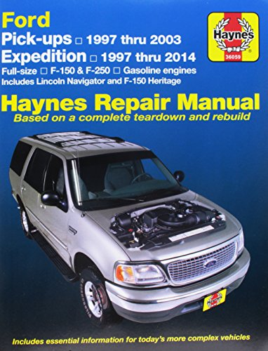 Haynes Ford Pick-ups & Expedition and Lincoln Navigator (97-14) Manual (36059) (Lincoln City Stores)