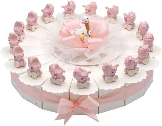 17 de invitados de regalos de cochecito rosa pastel decoración de ...