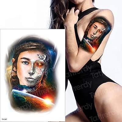 3pcsTatuaje niño Manga Tatuaje Negro Tatuaje Pegatina Hombre ...
