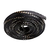 10M Braided Expandable Cable Sleeve 4-20mm Insulation Wire Wrapper Gland Cables Protection Sheathing Insulation Black Gold