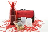 Picnic Blanket Kit, Washington Red Blend Wine Gift Set, 1 x 750 mL
