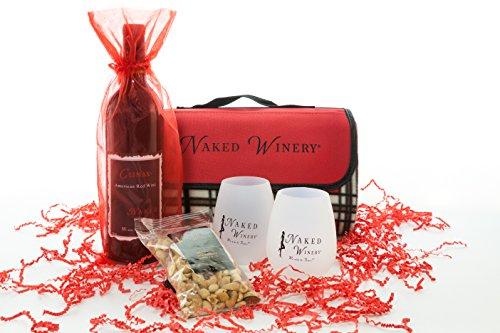 Picnic Blanket Kit Washington Red Blend Wine Gift Set, 1 x 750 mL