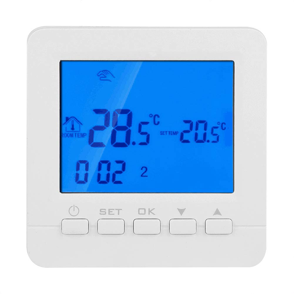 FTVOGUE HY02B05-WiFi 16A Digital LCD Display Heating Programmable Thermostat Temperature Controller