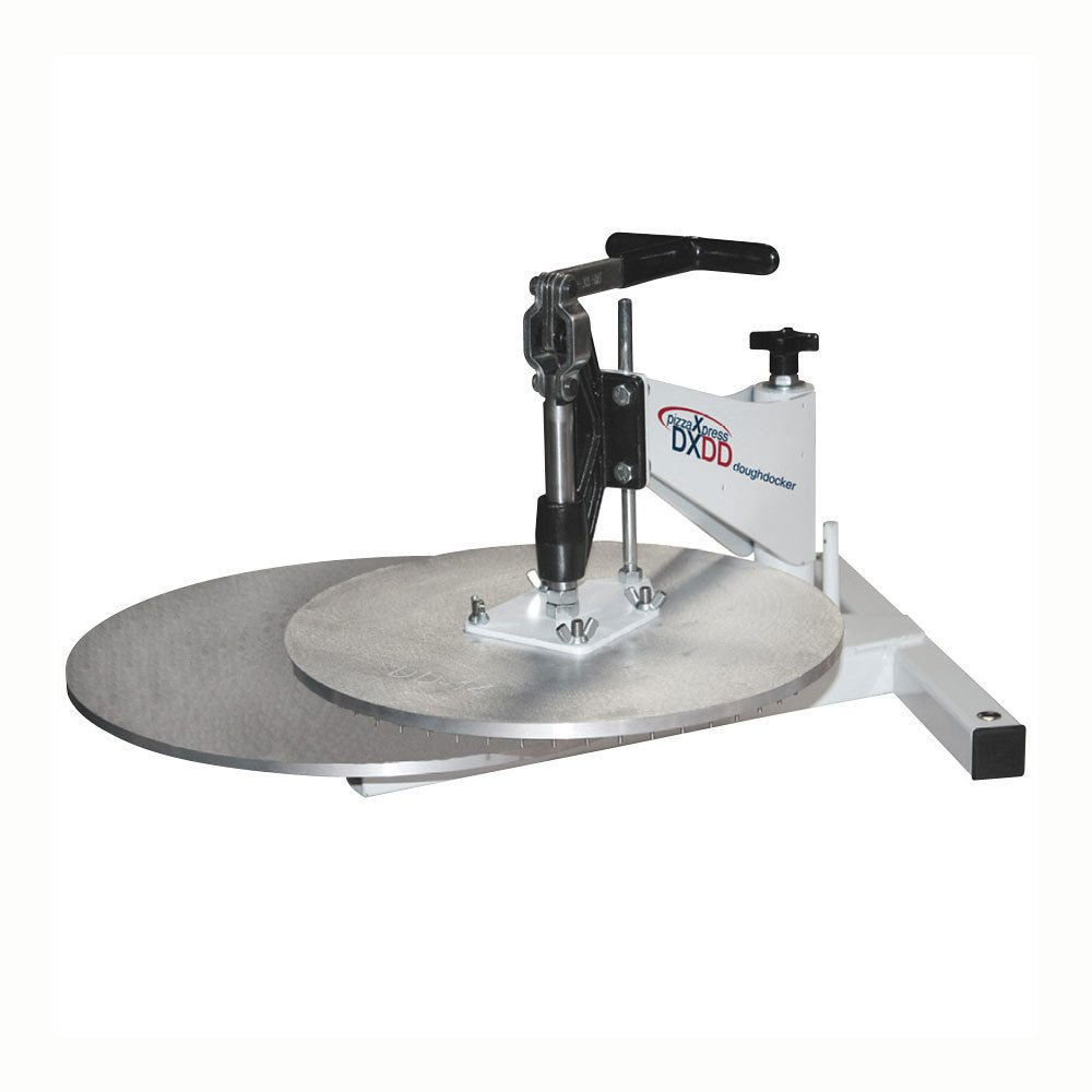 DoughXpress DXDD-16 Dough Docker with 16'' Docking Platen, 22-1/2'' Width x 31-3/8'' Height x 30-7/8'' Depth